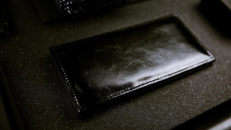 Himber Wallet by TCC Trick-Brieftasche aus Kunstleder, Schwarz