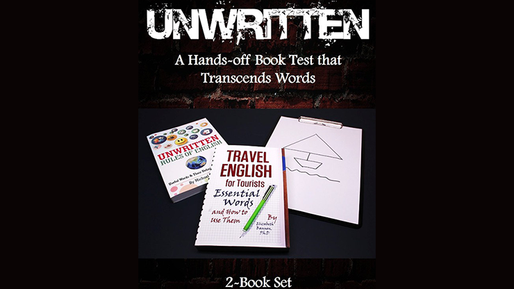 Unwritten: A Hands-off Book Test that Transcends Words (2-Book Set) by J C SUM Perfekte Buchtests