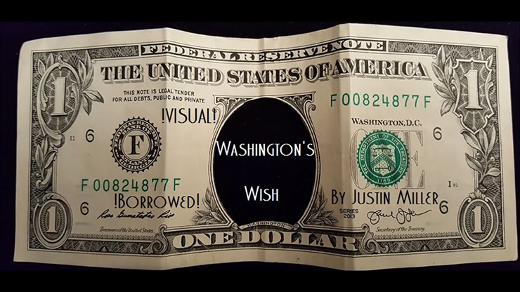 Washingtons Wish by Justin Miller video DOWNLOAD