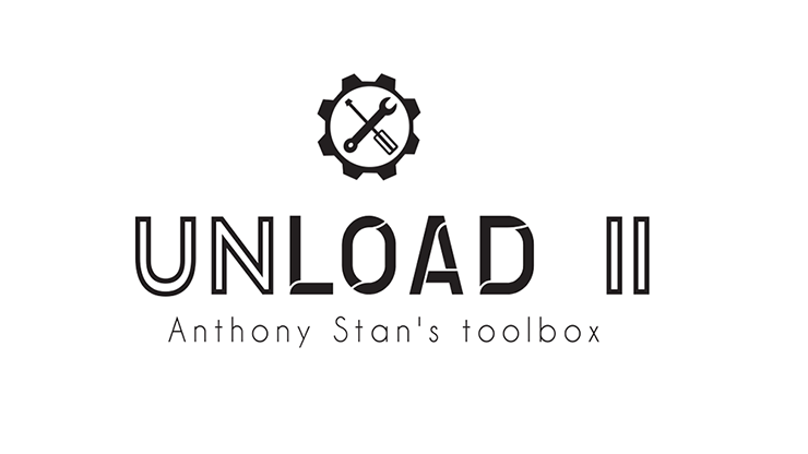 UNLOAD 2.0 BLUE by Anthony Stan and Magic Smile Productions Gimmick-Kartenschachtel blau