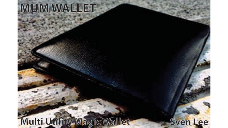 MUM Wallet (Black) by Sven Lee