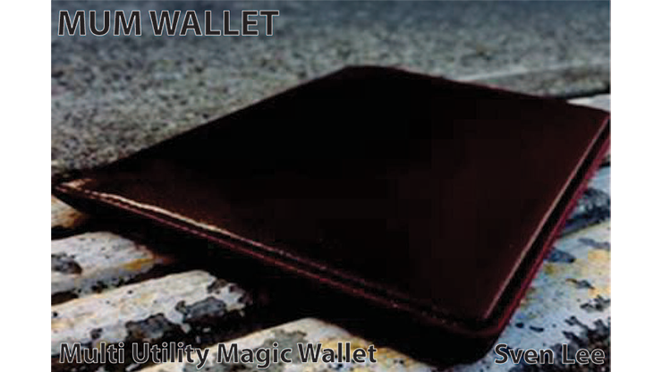 MUM Wallet (Brown) by Sven Lee