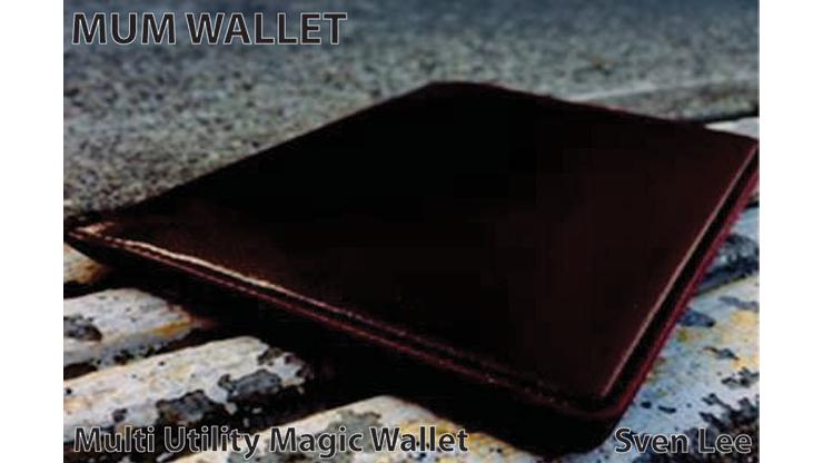 MUM Wallet (Brown) by Sven Lee - Trick