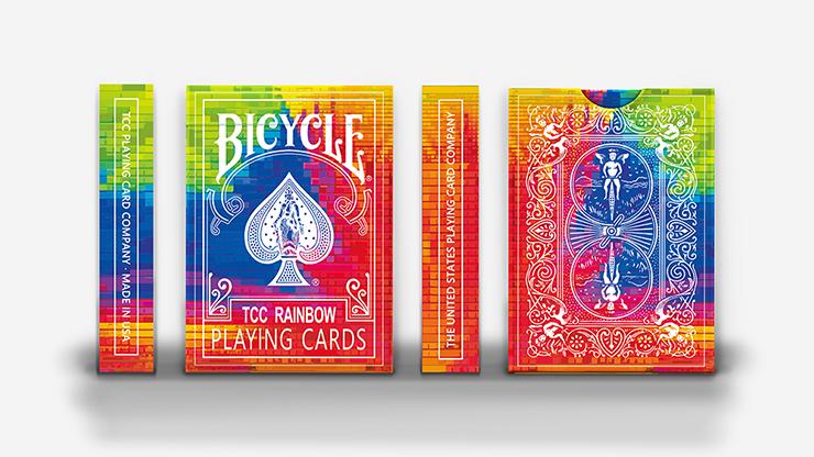 Rainbow Deck by TCC Poker Kartenspiel Spielkarten