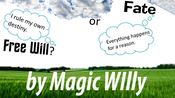 Fate or Free Will? by Magic Willy (Luigi Boscia) video DOWNLOAD