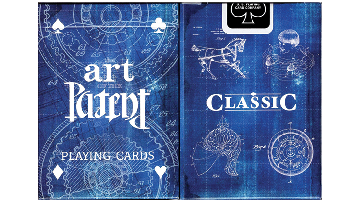 Limited Edition Art of the Patent (Classic) Playing Cards Poker Kartenspiel Spielkarten
