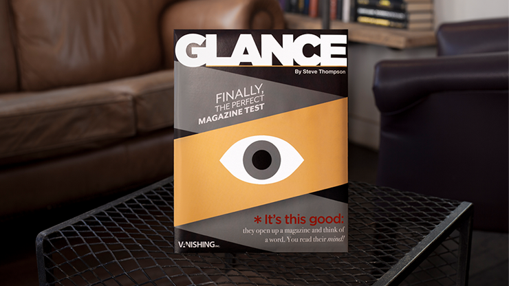Glance Combo (2 Magazines) by Steve Thompson - Trick