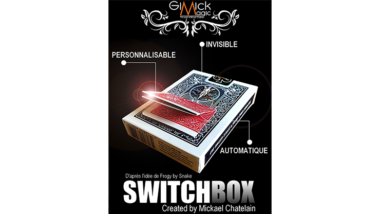 SWITCHBOX (BLUE) by Mickael Chatelain