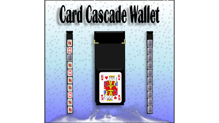 Card Cascade Wallet by Heinz Minten