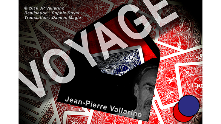 VOYAGE Red by Jean-Pierre Vallarino