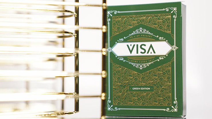 Visa Playing Cards (Green) by Patrick Kun and Alex Pandrea