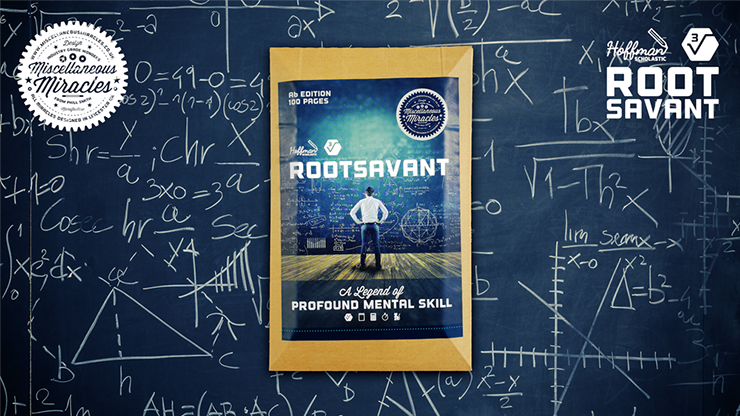 Rootsavant A6 (Gimmick and Online Instructions) by Phill Smith Gimmick-Block für Zahlenvoraussage