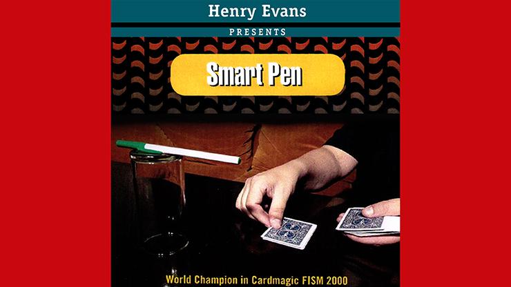 Smart Pen (Gimmicks and Online Instructions) by Henry Evans Von Glas fallender Stift findet Zuschauerkarte