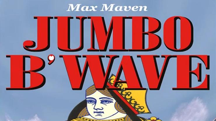 Max Maven's Jumbo B'Wave (Black Queen) Mehrfache Kartenverwandlung mit vier Jumbo-Karten