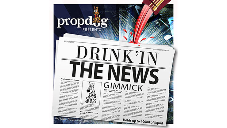 Drink'in the News by PropDog