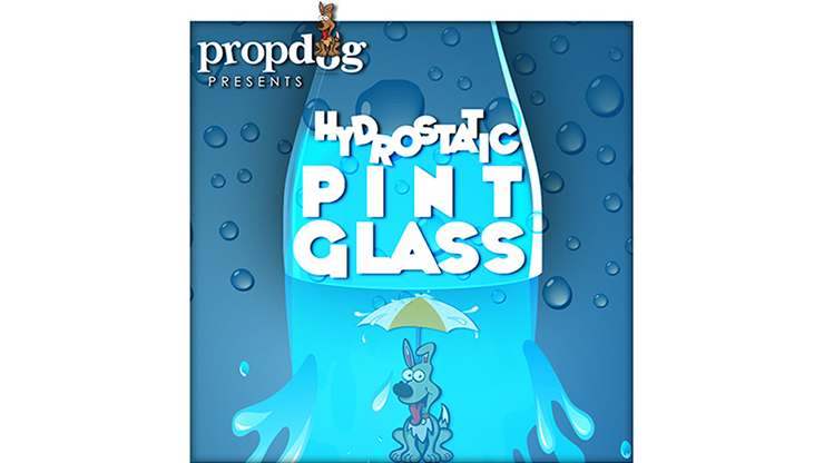 Hydrostatic Pint Glass by PropDog