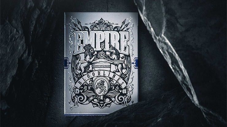 Empire Bloodlines (Royal Blue) Playing Cards