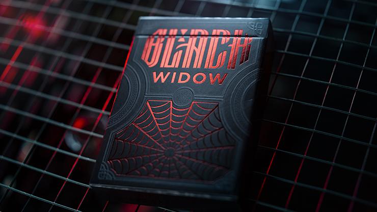 Black Widow Playing Cards Poker Kartenspiel Spielkarten