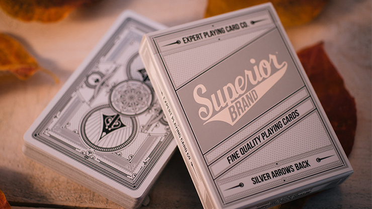 Superior Silver Arrow Playing Cards by Expert Playing Card Co Poker Kartenspiel Spielkarten