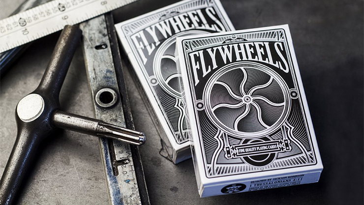 Flywheels Playing Cards by Jackson Robinson and Expert Playing Card Co. Poker Kartenspiel Spielkarten
