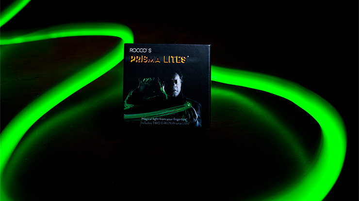 Rocco's SUPER BRIGHT Prisma Lites Pair (Green) - Trick