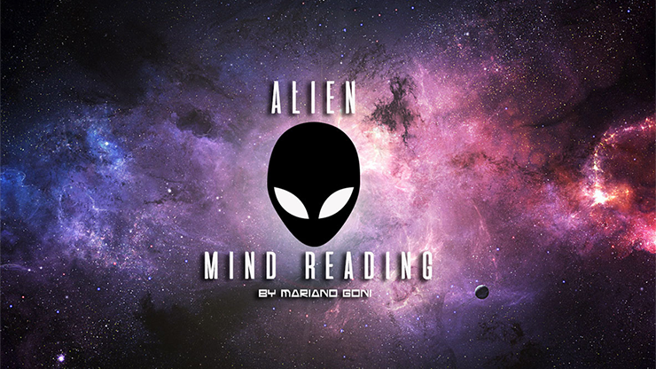 Alien Mind Reading by Mariano Goñi
