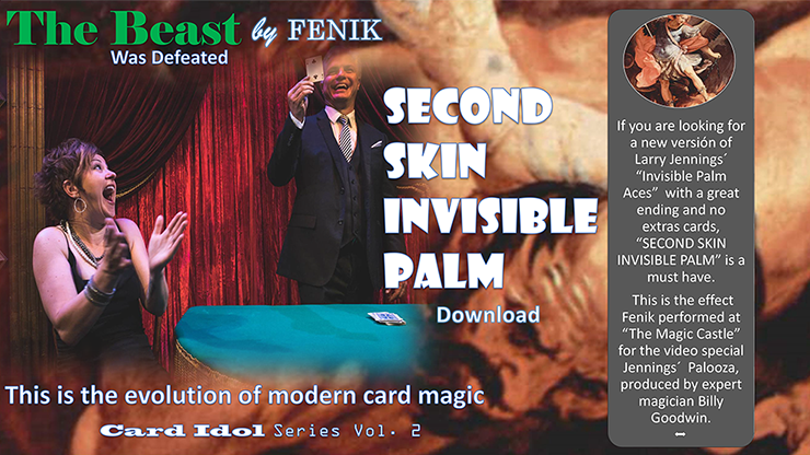 Second Skin Invisible Palm by Fenik video DOWNLOAD