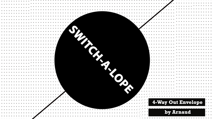 SWITCH-A-LOPE (Gimmick and Online Instructions) by Arnaud Van Rietschoten