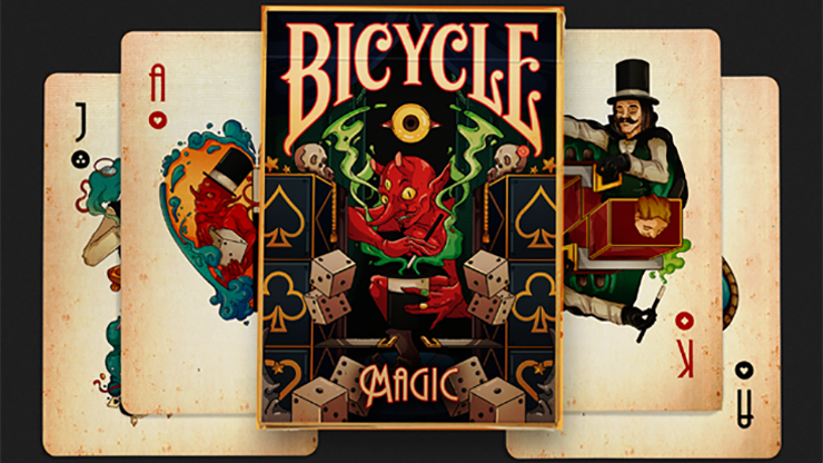 Bicycle Magic Playing Cards & Prestige Playing Cards