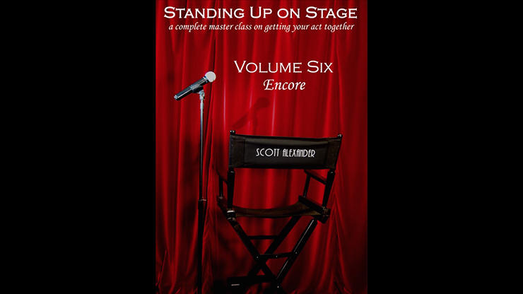 Standing Up On Stage Volume 6 Encore by Scott Alexander
