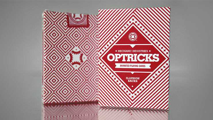 Mechanic Optricks (Red) Deck & Mechanic Industries