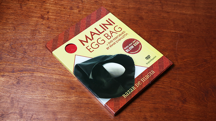 Malini Egg Bag Pro Red (Bag and DVD) Eierbeutel-Routine