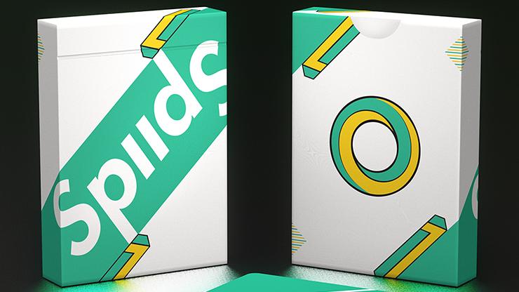 Spud Playing Cards (Green Edition) Poker Kartenspiel Spielkarten