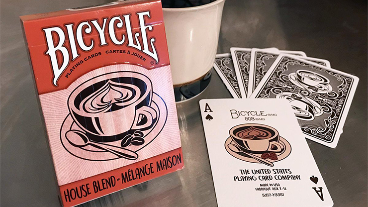 Bicycle House Blend Playing Cards Poker Kartenspiel Spielkarten