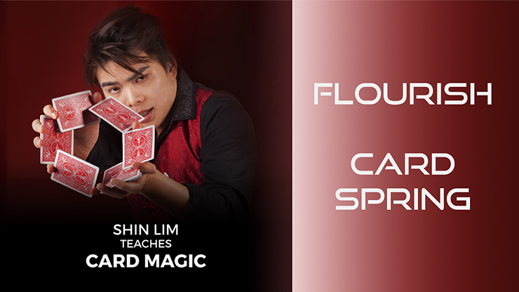 Card Spring Flourish by Shin Lim (Single Trick)