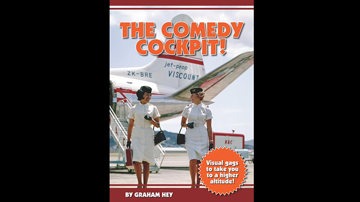 The Comedy Cockpit! 'Visual gags to take you to a higher altitude!' by Graham Hey Zauberbuch