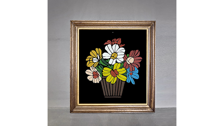 Flower Frame by Tora Magic