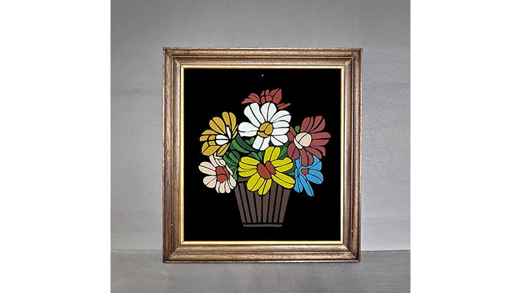 Flower Frame by Tora Magic Bild von Blumen in Vase zu echten Blumen