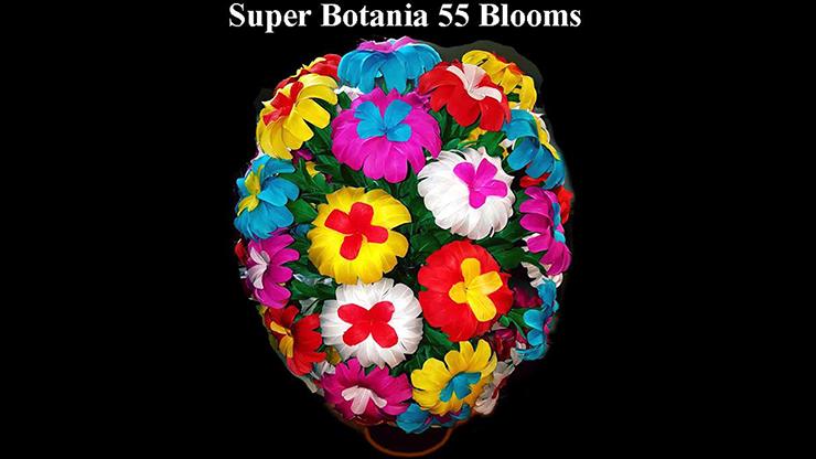 Super Botania 55 Blooms by Tora Magic Blume in Röhre zu großem Federblumenstrauß
