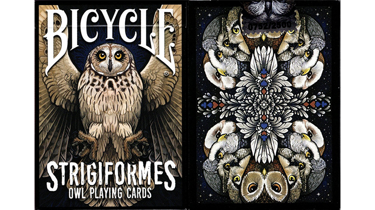 Bicycle Strigiformes Owl Playing Cards Poker Kartenspiel Spielkarten