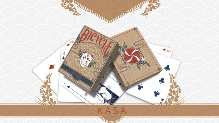 Kasa Wood Edition Playing Cards