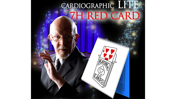 Cardiographic LITE RED CARD by Martin Lewis