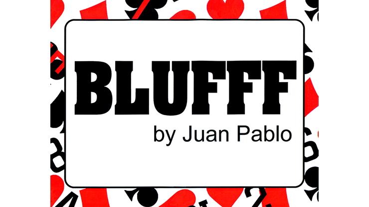 BLUFFF (Joker to King of Clubs ) by Juan Pablo Magic Jokerbild auf Schal zu Bild von Zuschauerkarte