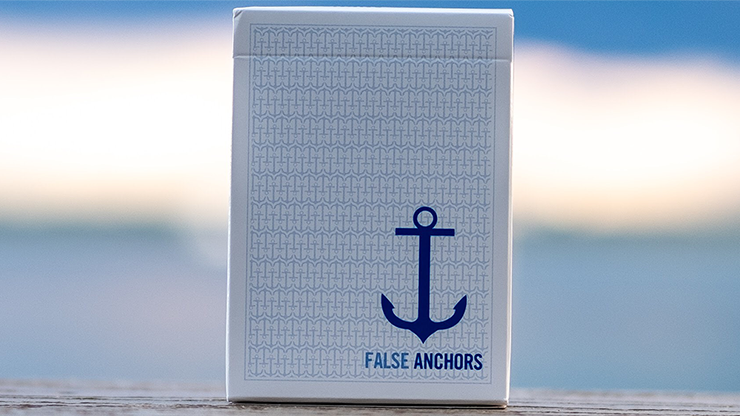Limited Edition False Anchors Playing Cards & Ryan Schlutz