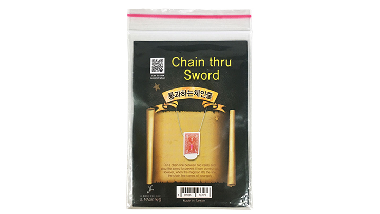 Chain Thru Sword by JL Magic