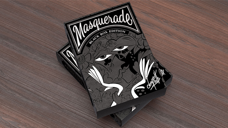 Masquerade: Black Box Edition Playing Cards by Denyse Klette