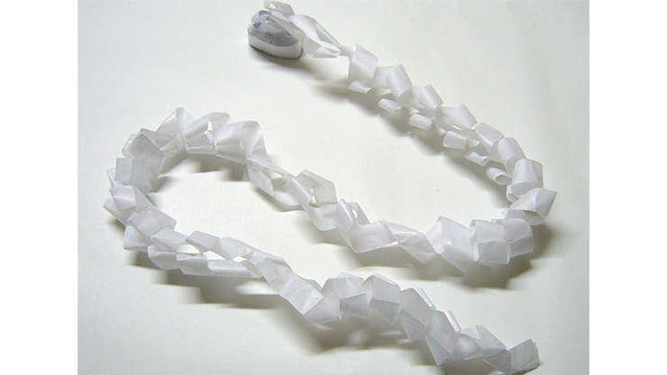 Mouth Coils 46 ft. (White/12 pk.) by Opkoopjes 12 weiße Mundstreamer, 14 Meter