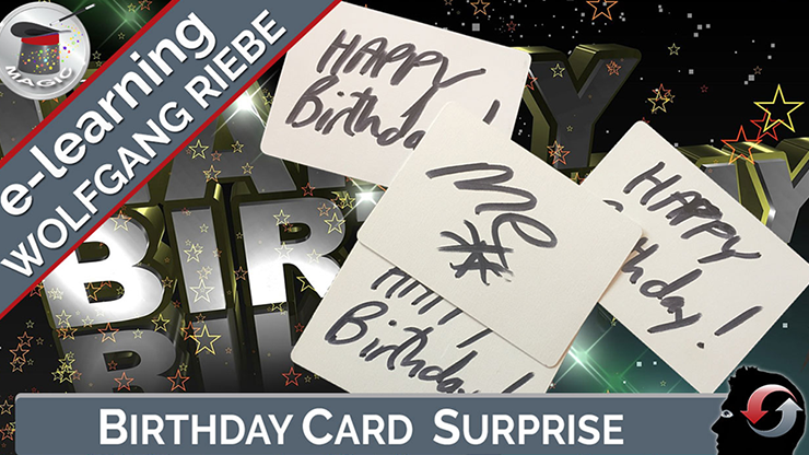 Birthday Card Surprise by Wolfgang Riebe