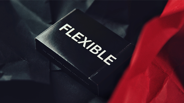 FLEXIBLE (Black) Playing Cards & TCC