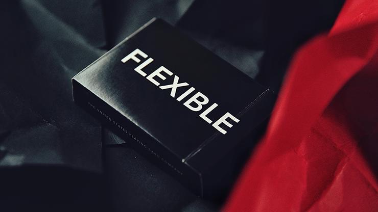 FLEXIBLE (Black) Playing Cards Poker Kartenspiel Spielkarten